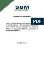 Programa Especial de Salud ISBM.