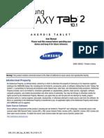 Verizon SGH-i915 GalaxyTab2 SU1 English User Manual MA3 F2