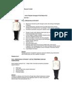Code Dress PDRM Officer