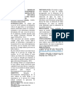 Utilización de Modelos Numéricos Para Entender El Rol de La Zona Vadosa en El Proceso de Recarga Natural. El Caso Del Valle de Aguascalientes.
