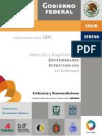 Hipertension Embarazadas Evr Cenetec