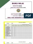 1415 Daftar Nilai Kelas Xi