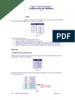 TDI111 - Codificación de Huffman (Ejemplo)