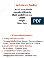 1 Financial Markets and Trading