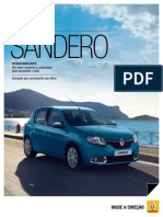 Renault Sandero Catalogo 2014 v2