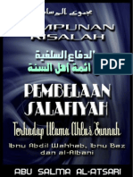 Pembelaan Salafiyah Terhadap Ulama Ahlu Sunnah