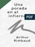 6805512 Rimbaud Una Temporada en El Infierno