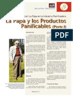 La Papa y Sus Productos Panificables