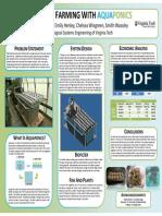 Aqua P Poster