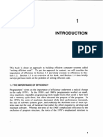Jon Bentley - Writing Efficient Programs