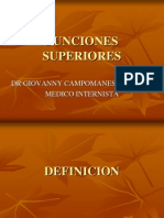 Cap Neurologia - Funciones Superiores-dr Carel Campomanes