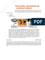 INTRODUCCIÓN. MATERIALES CONDUCTORES