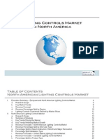 European and North American Lighting Controls Market