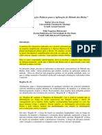 7. Recomendações Práticas Para a Aplicação Do Método Das Bielas