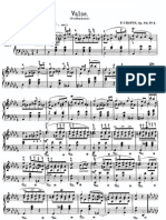 Waltz No. 3 in D Flat Major, Op. 70