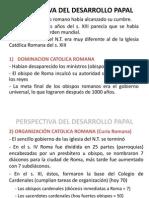 Perspectiva Del Periodo Desarrollo Papal