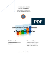 Trabajo 1 - Estadística General