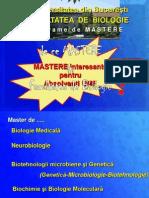 Prezentare Mastere