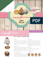 Cake Factory 2014 Brochure