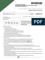 Fcc 2010 Dnocs Agente Administrativo Prova