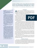 Análise Da Resistência Flexural e Microdureza de Dois