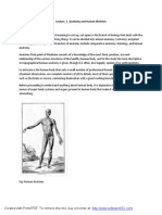 Lecture_1_Anatomy and Human Skeleton