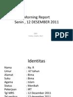 Morning Report Interna DM