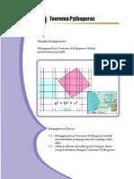 Mtk. Kls 8 Bab 5. Teorema Pythagoras