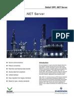 DeltaV OPC .NET Server