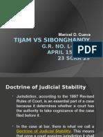 Tijam vs Sibonghanoy