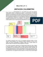 Practica Colorimetria