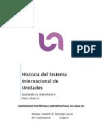 HISTORIA DEL SISTEMA INTERNACIONAL DE UNIDADES SI.docx