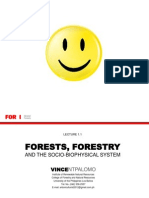 Forests, Forestry and the Biophysical System