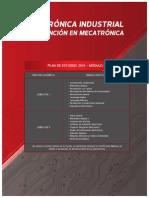 Plan de Estudios Electrónica Industrial Con Mención en Mecatrónica
