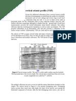 A Vertical Seismic Profile