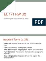 EL 171 RW U2 Ex 5 6 7