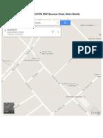 Garage Location Map - Asuncion