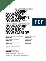 Service Manual Digital VCR  DVWA500P Vol1 part2