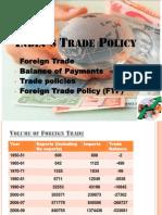 Indias Trade Policy