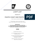 V6 -  LIGHT LIST Volume VI  PACIFIC COAST AND PACIFIC ISLANDS