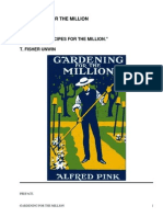 Gardening for the Million by Pink, Alfred