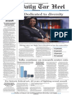 The Daily Tar Heel for Sept. 12, 2014