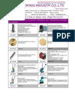 2014 Jewelry Machines Price List
