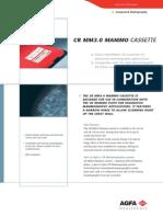 Cr Mm3.0 Mammo Cassette