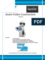 Assets Under Construction in SAP