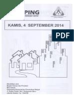 Kliping Berita Perumahan Rakyat, 4 September 2014