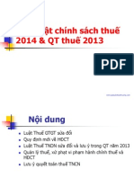 Bai giang cong chuc thue
