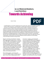 Philippine Policies on Maternal and Newborn Health