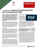 REDEPT (2013) 5 Redenen waarom de kantorenmarkt een huurdersmarkt blijft