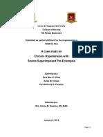 Pre Eclampsia case study
